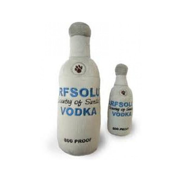 Arfsolut Vodka Squeak Toy Size : Large