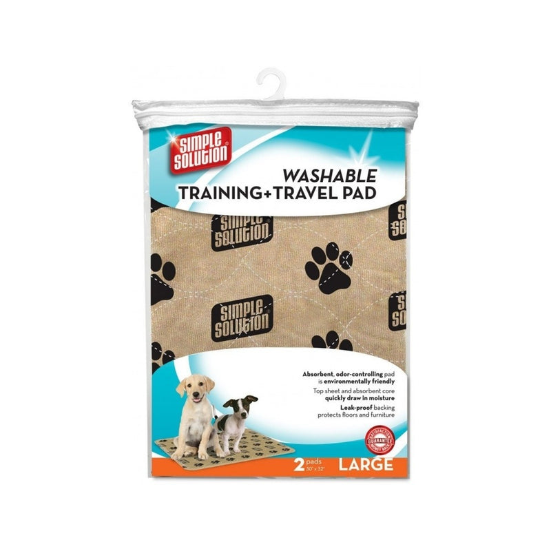 Training and Travel Pad - Washable, Large, Count:  2x
