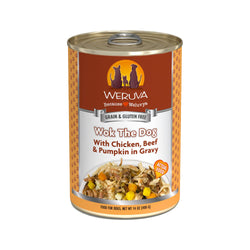 Dog - Wok The Dog w/ Chicken, Beef & Pumpkin in Gravy, 14oz