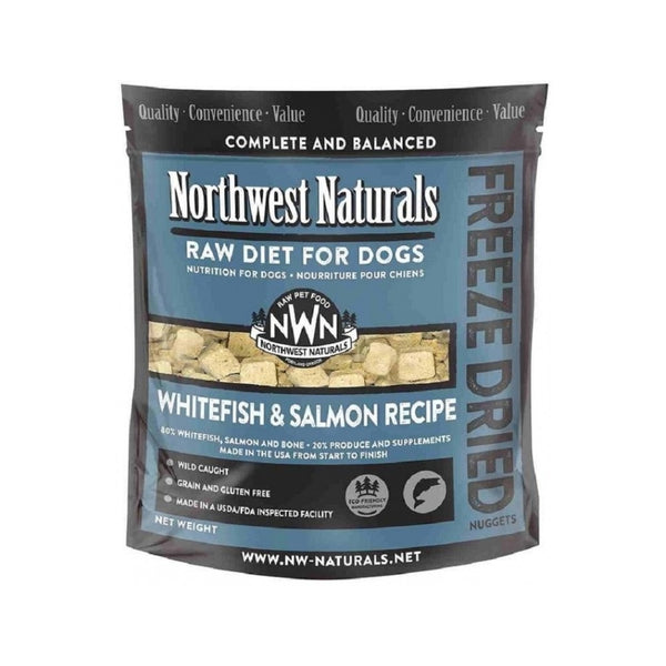 Freeze Dried Whitefish & Salmon Nuggets Weight : 12oz