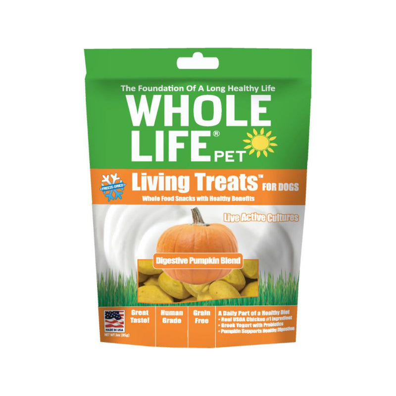 Living Treats Pumpkin Blend, 3oz