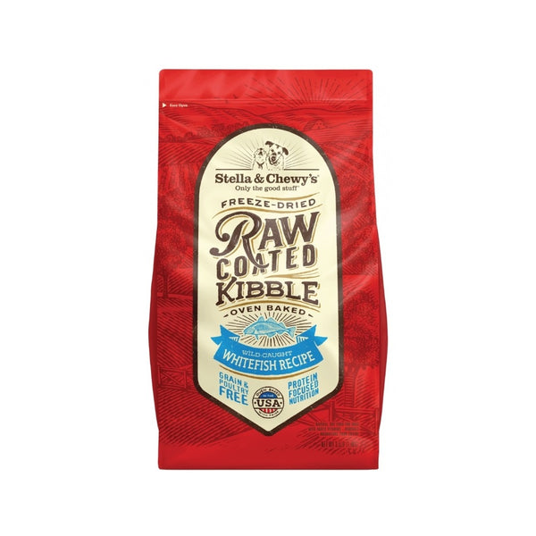 Wild Caught Whitefish Raw Coated Kibble, 22lb