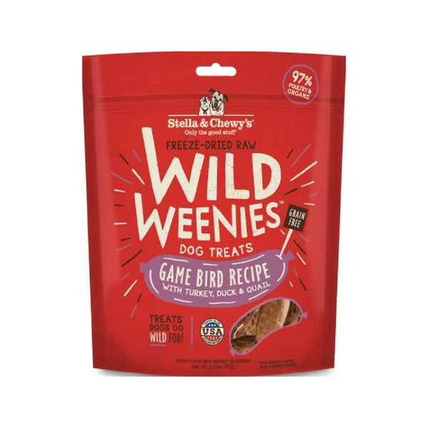 Treats - Wild Weenies Game Bird Recipe, 3.25oz