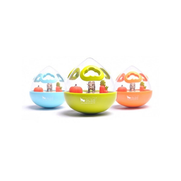 Wobble Ball Treats Dispensing Toy, Color: Assorted