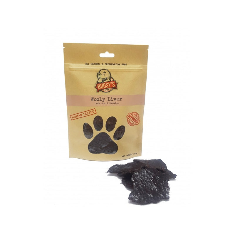 Wooly Lamb Liver & Dandelion Weight : 100g