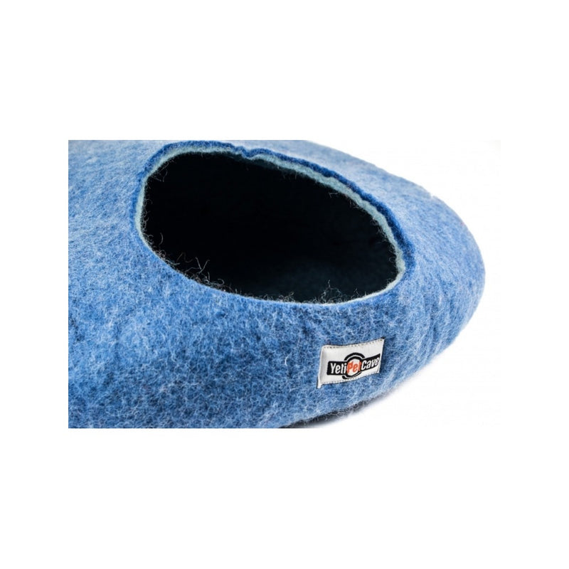 Yeti Wool Cat Cave, Color: Blue