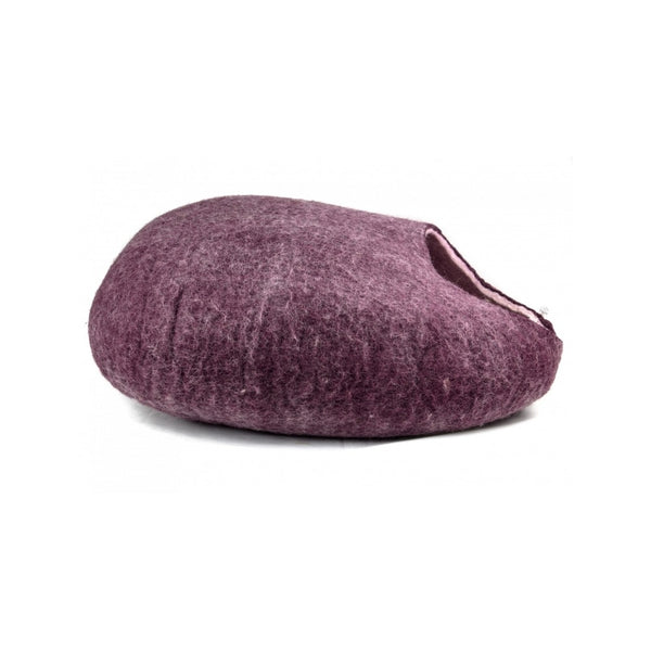 Yeti Wool Cat Cave, Color: Purple