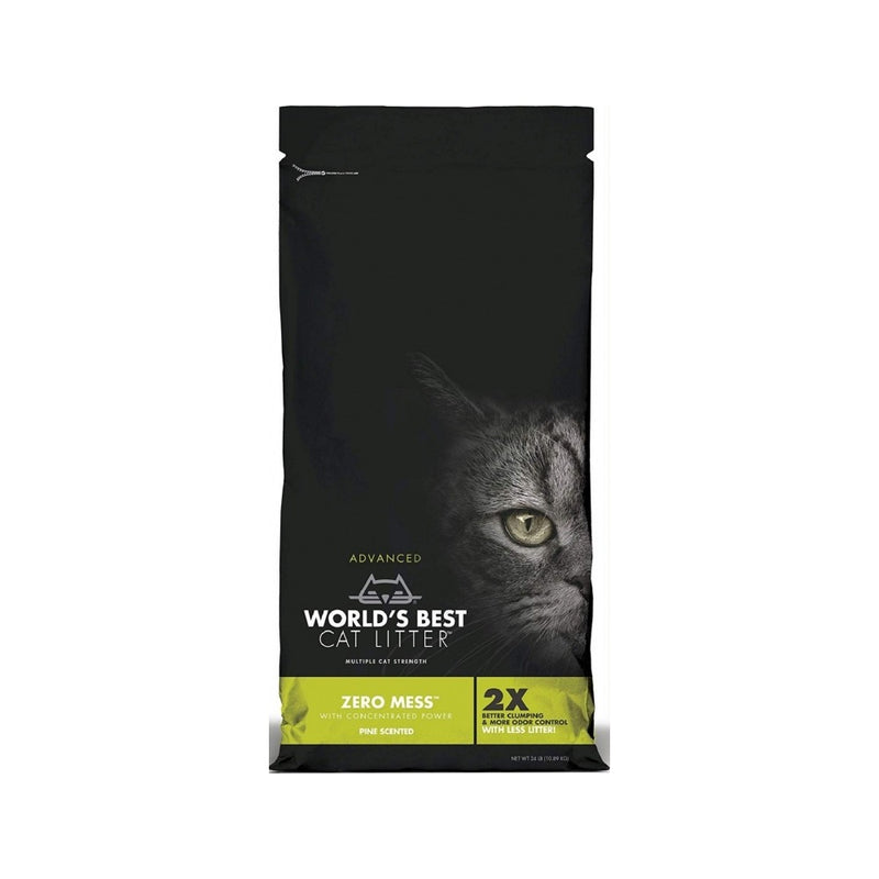 Zero Mess Pine Scented Cat Litter, 5.4kg