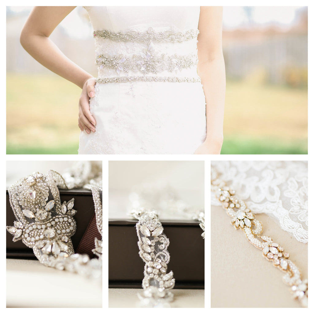 2017 Wedding belts and sashes