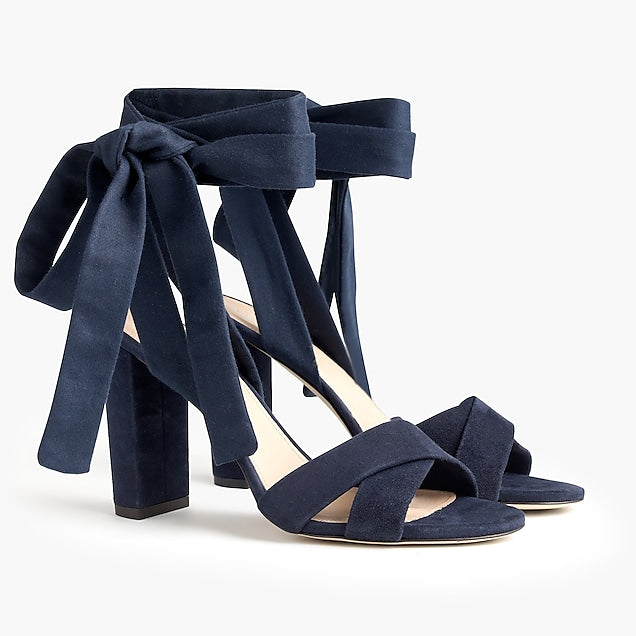 Blue Sandals for weddings