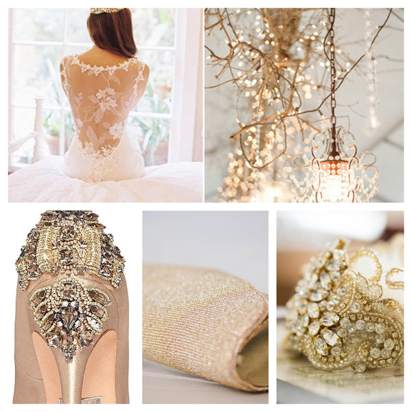 Hottest Gold Wedding Trends