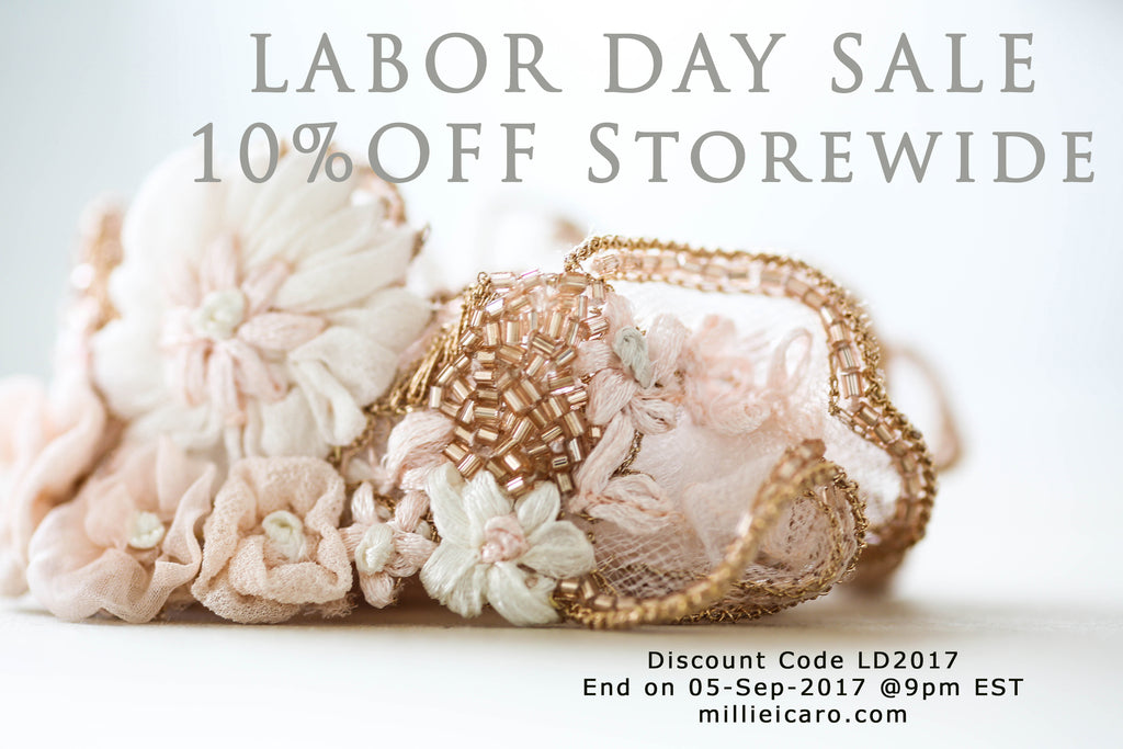 Bridal Store Labor Day Sale 2017