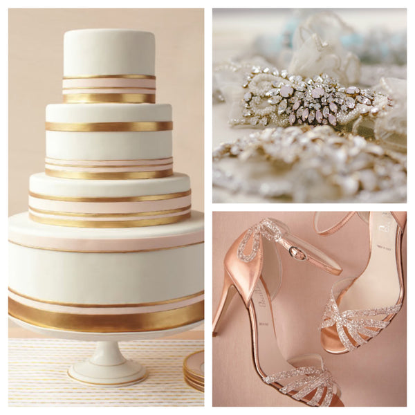 Rosegold wedding trends this fall
