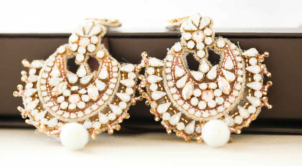 Statement Bridal Earrings the 2017 bridal trend