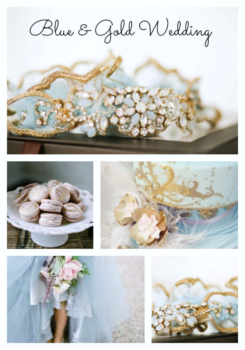 Blue and Gold Wedding Ideas in 2017