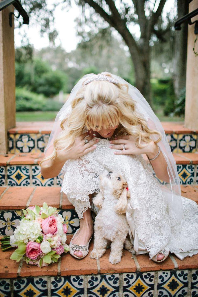 How to incorporate dogs in wedding