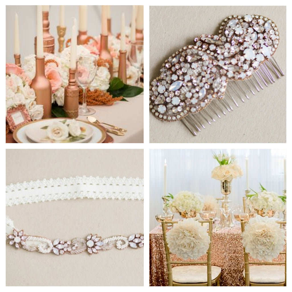 Rosegold wedding ideas