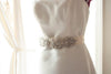 Bridal sash - Lilly 9 inches