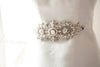 bridal dress sash - lelia