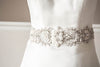 bridal sashes and belts - paris romance 26 inches