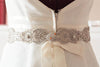 art deco wedding dress belt