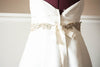 gold bridal sash - may gold