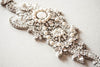 Bridal Headband applique can be worn as tiara