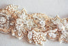 Bridal headpiece - May gold