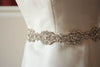 crystal bridal sashes and belts