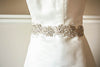 Millieicaro bridal dress sashes - Silver