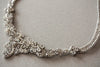 Handbeaded wedding necklace cloe