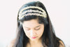3 strand rhinestone and crystal wedding head band Style R109
