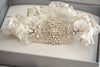 Bridal garter set - Style Italia (Ready to ship in Gold Option)