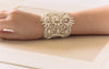 swarovski bridal bracelet and wedding bracelet  Style BA01