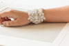 couture beaded bridal embellishment bracelet - BA02