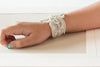 beaded bridal bracelet Style B04