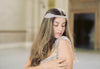 Bridal hair vines- Bohemian style bridal headpiece H17