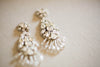 Swarovski bridal earrings for weddings