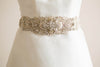 Designer bridal dress sash