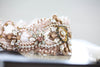 Rosegold wedding garters