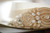 wedding dress sash - valeria