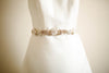 Bridal belt in gold - Style S35