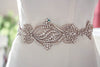 Bridal sash - Hearts Art 15 inches