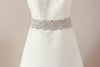 Bridal sash - Viva Sparkle 19 inches