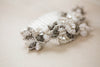 Antique Silver Bridal Hair Comb