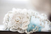 Something Blue Bridal Garter, Wedding Garter | Style R114