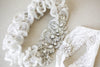 Embellished Bridal Garter Set - Style R121 (Ready to Ship)