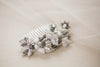 Beaded Bridal Hair Comb
