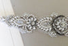 Bridal dress belt - Calida antique silver