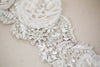 Embellished bridal sash